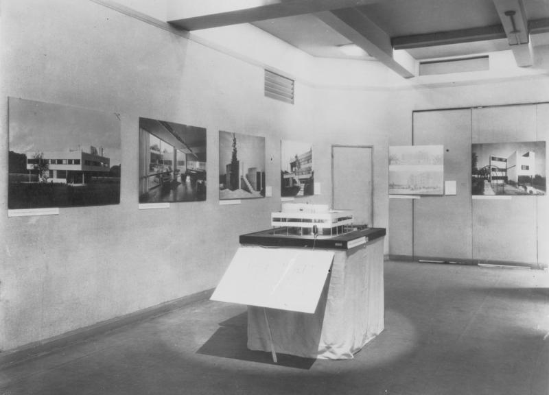 Le Corbusier Villa Savoye Model MoMa New York Modern Architecture International Exhibition