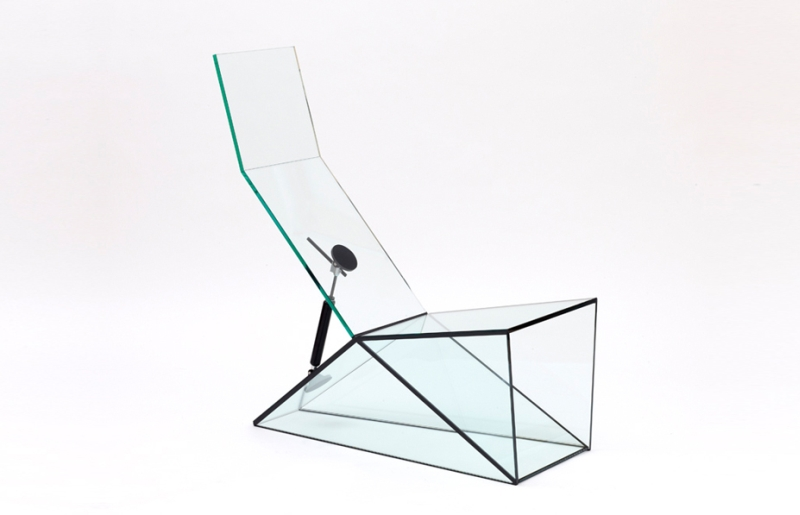 Man Machine by Konstantin Grcic at Galerie Kreo Paris Lounge Chair