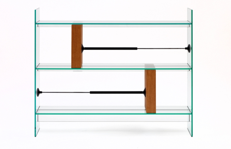 Man Machine by Konstantin Grcic at Galerie Kreo Paris bookcase