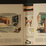 Sketches for the interior of the Playboy Penthouse