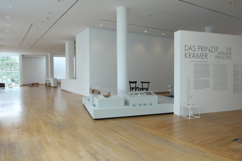 The Kramer Principle Design for Variable Use Museum Angewandte Kunst Frankfurt am Main