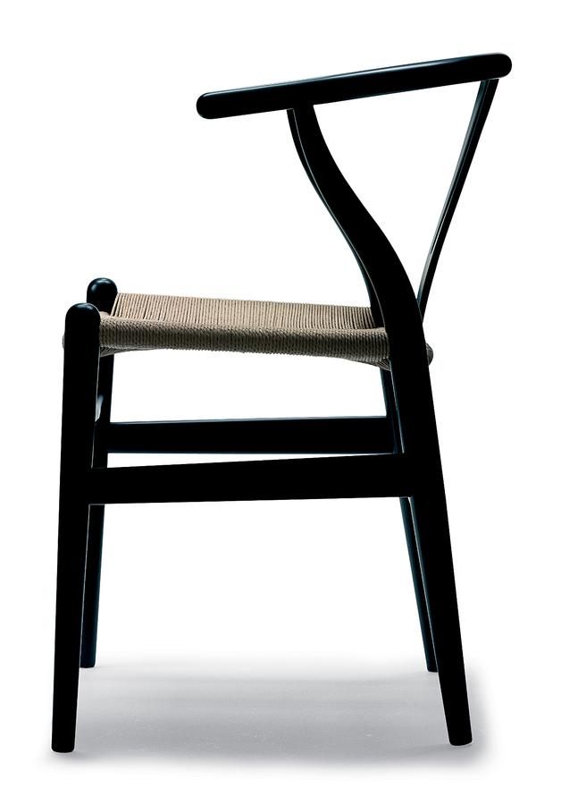 CH24 Wishbone Chair Hans J. Wegner Carl Hansen & Søn Side