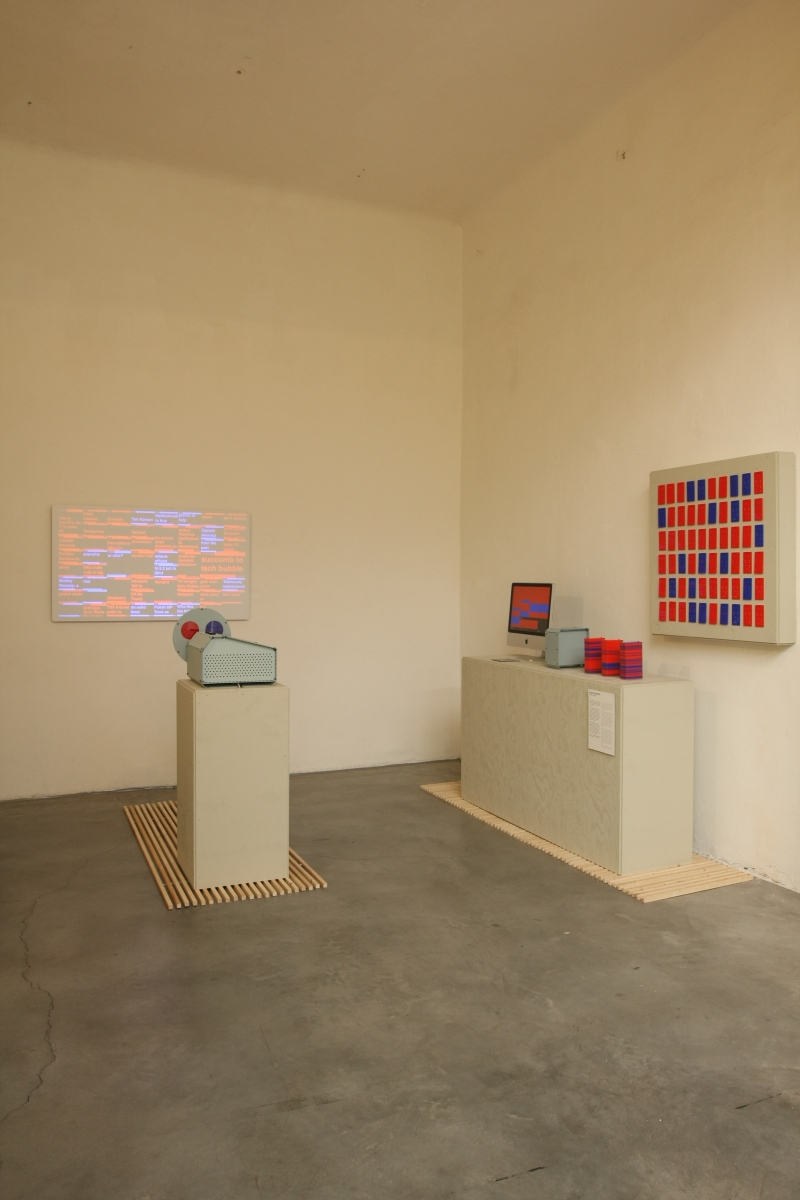 Feeds per minute by Raw Color, as seen at Dutch Invertuals - Happy Future, Milan 2014
