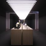 Milan Design Week 2014 Le Feu Sacré Designers and glass blowers at Institut Francais
