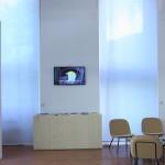 Milan Design Week 2014 Le Feu Sacré Designers and glass blowers at Institut Francais cork chairs 01