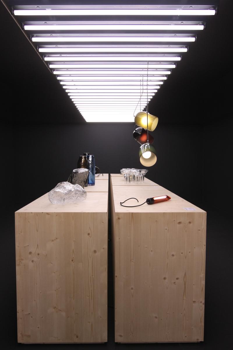 Milan Design Week 2014 Special Le Feu Sacré Designers and glass blowers at Institut Francais 02