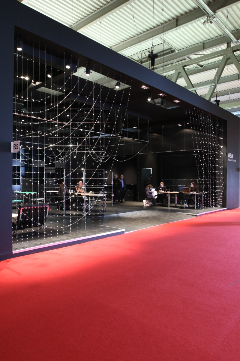 Milan Furniture Fair 2014 USM Haller