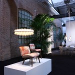 Moooi in Milan 2014: Nut Chair by Marcel Wanders and Prop Light by Bertjan Pot