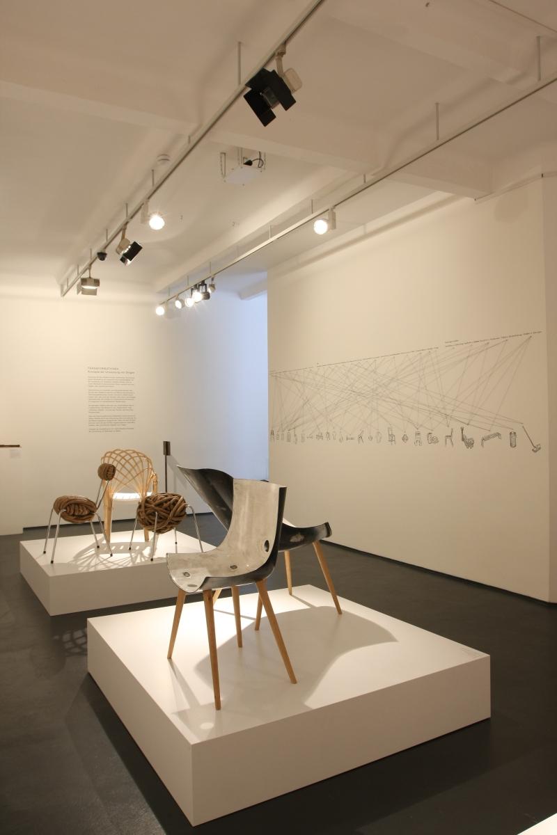 Transformationen Konzepte der Umnutzung von Dingen Werkbundarchiv Museum der Dinge Berlin Tub-Chair Michael Kapfer