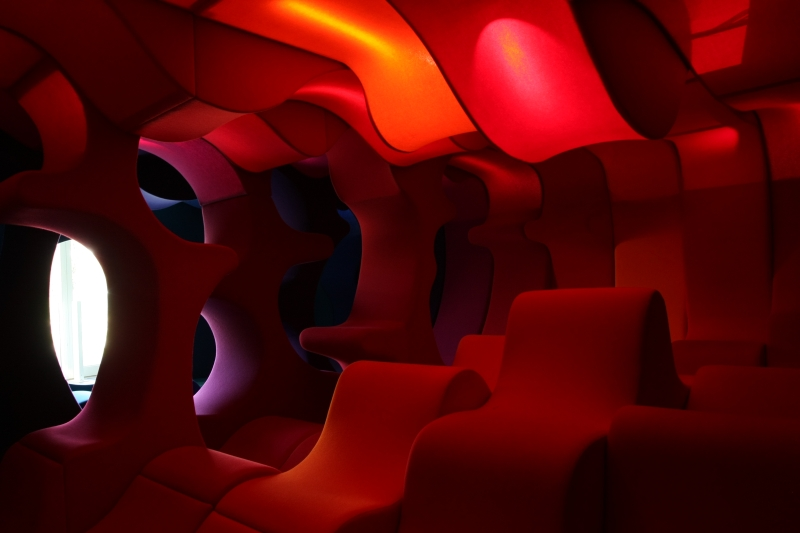 Verner Panton Visiona 1970 Revisiting the Future at the Vitra Design Museum Gallery