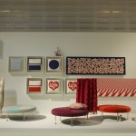 Colour Wheel Ottoman by Alexander Girard through Vitra, as seen at Milan Furniture Fair 2014