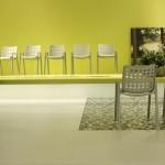 Landi Chair by Hans Coray through Vitra, as seen at Milan Furniture Fair 2014