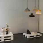 Berlin Design Week Pepe Heykoop Tiny Miracles Foundation at DAD Galerie Berlin Paper Vase Cover Paper Lamp