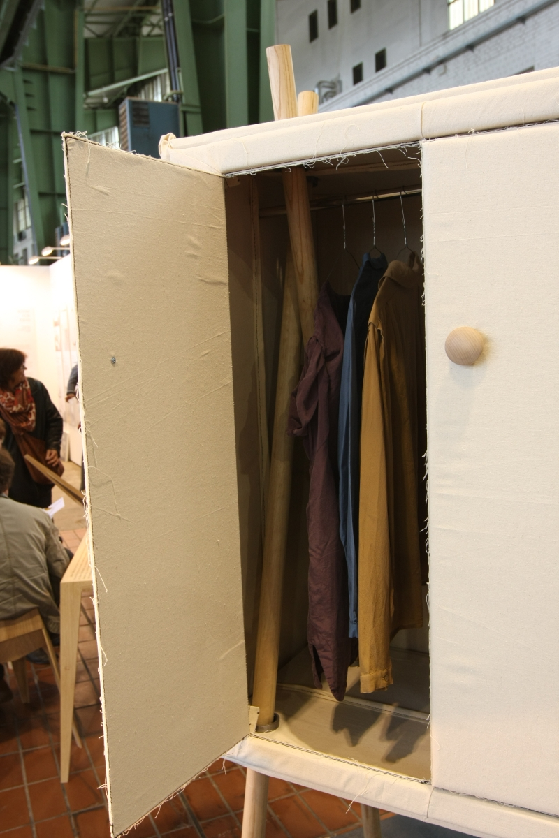DMY Berlin 2014 Cabinet Pop-Up Linen by Studio Renate Nederpel