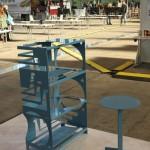 DMY Berlin 2014 Designpreis der Bundesrepublik Deutschland 2014 Exhibition Construct Table & Construct Table Shelf by Samuel Treindl, Thomas Schnur