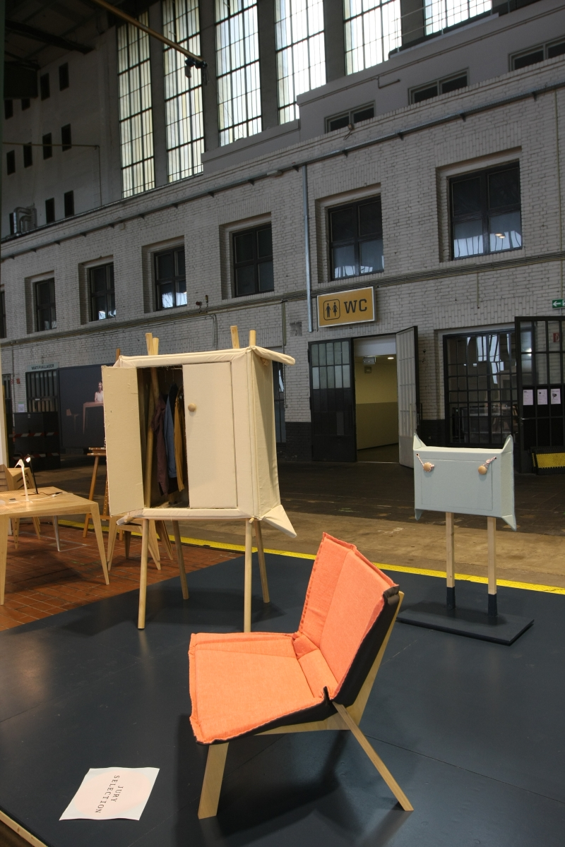 DMY Berlin Award 2014 Cabinet Pop-Up Linen by Studio Renate Nederpel