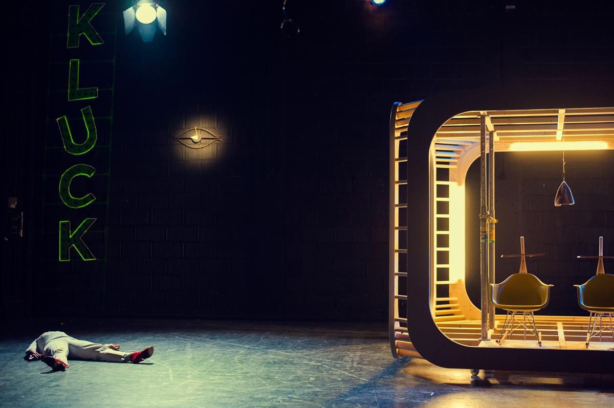 Der Hund des alten Mannes von Oliver Kluck Theater Rampe Stuttgart