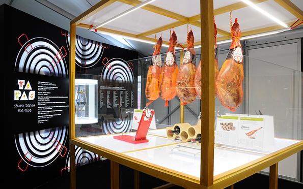 Tapas Spanish design for food Design Exchange Toronto