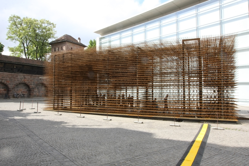 Unschärfe Neues Museum Nürnberg Matthias Loebermann Institut für Architektur und Städtebau Hochschule Biberach