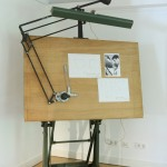 Wilhelm Wagenfeld's drawing desk