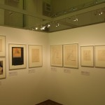 Works from the Wassily Kandinsky's analytical drawing class