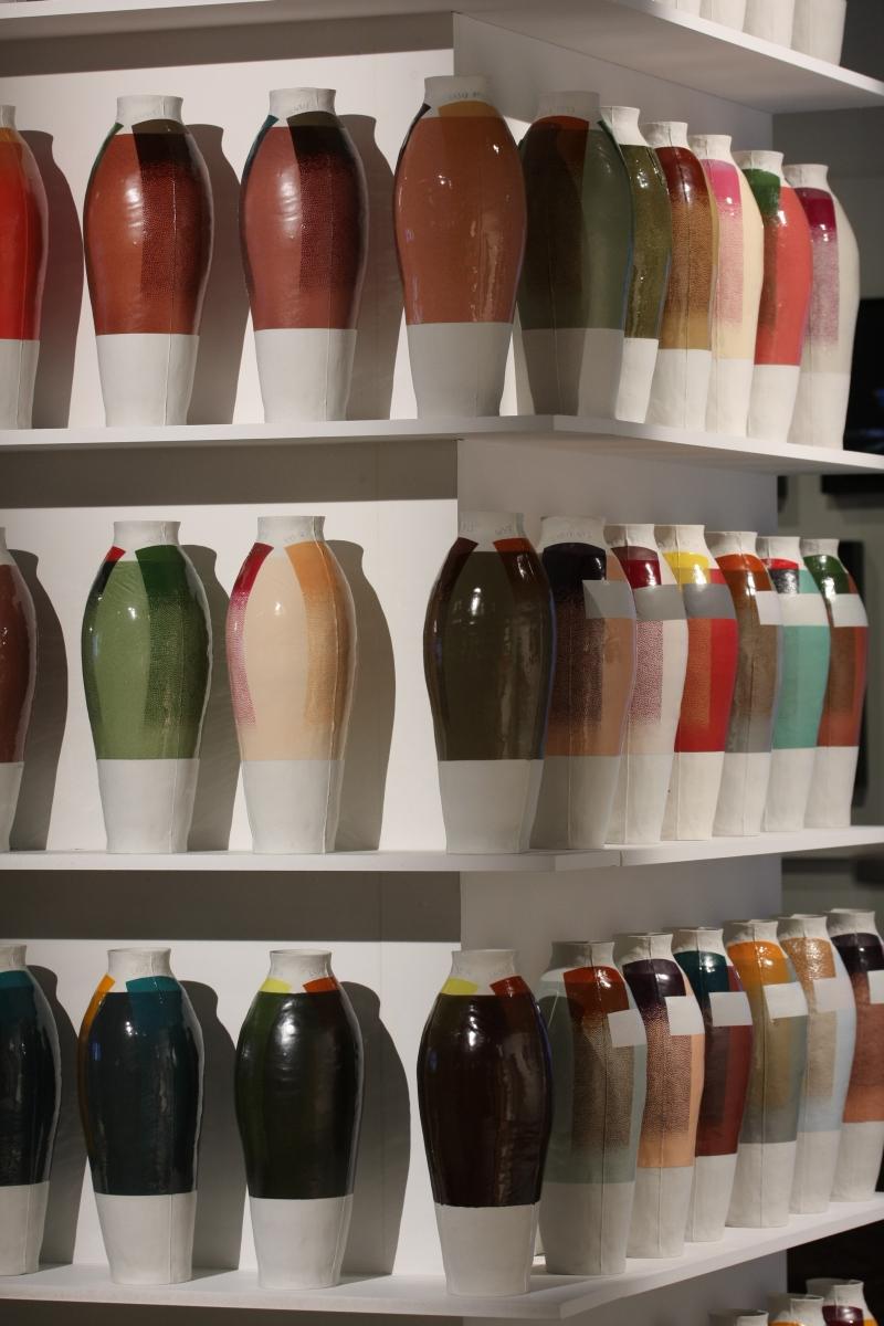 Design Miami Basel 2014 Hella Jongerius Coloured Vases Priveekollektie