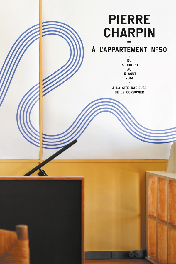 Pierre Charpin at L'Appartement 50, Marseille