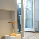 Direktorenhaus Berlin Summer Break VA Neue Arbeiten All Wood Stool Karoline Fesser