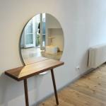 Direktorenhaus Berlin Summer Break VA Neue Arbeiten C58 dressing table Florian Schmid All Wood Stool Karoline Fesser