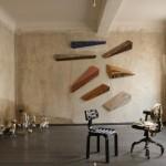 Chubby Chair by Dirk vander Kooij,Skin Collection Chair by Pepe Heykoop,Wedges by Ron van der Ende &