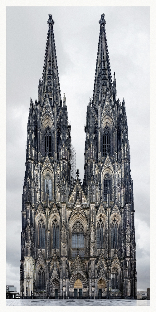 Markus Brunetti  FACADES Kathedralen Kirchen Klöster in Europa at the Museum für Angewandte Kunst Cologne Germany
