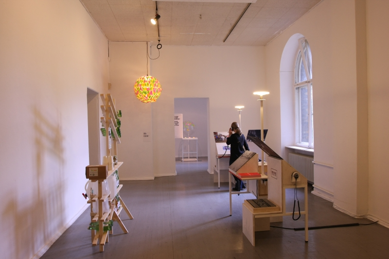 We Traders Tausche Krise Gegen Stadt at the Kunstraum Kreuzberg Bethanien Berlin