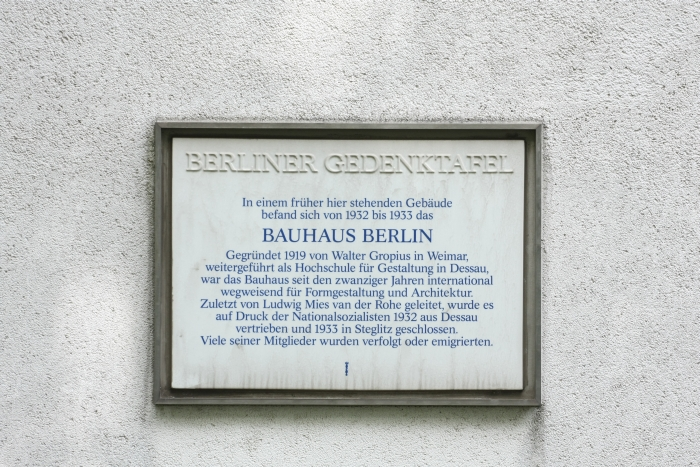 The best Berlin can do for the site of Bauhaus Berlin, or at least a site close to the site.....