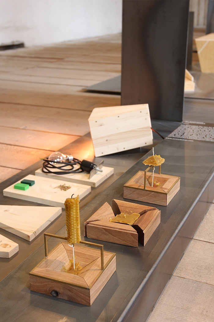 Candle Holder by AU Workshop, as seen at Pure Hungarian, Vienna Design Week 2014