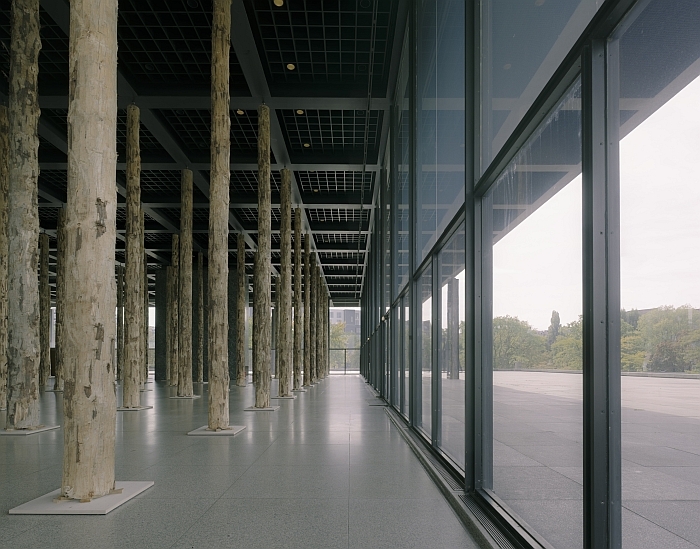 David Chipperfield Sticks and Stones an Intervention Installation view