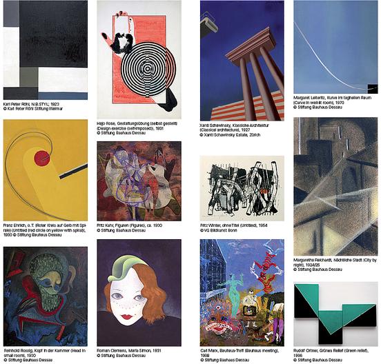 Bauhaus Die Kunst der Schüler Werke aus der Sammlung der Stiftung Bauhaus Dessau