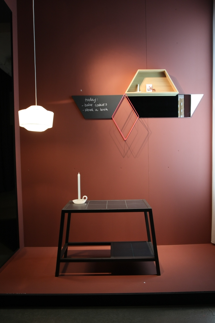 Dutch Design Week 2014 Ontwerpduo Impossible things before breakfast Tile Table Tallow