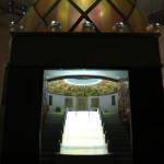 The Glass Pavilion by Bruno Taut, as seen at Made in Germany – Politik mit Dingen. Der Deutsche Werkbund 1914 , the Werkbundarchiv – Museum der Dinge Berlin