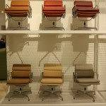 Soft Pad chair by Charles and Ray Eames through Vitra, as seen at Orgatec Cologne 2014