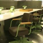 Orgatec Cologne 2014 Vitra Jean Prouve Fauteuil Direction Pivotant office chair