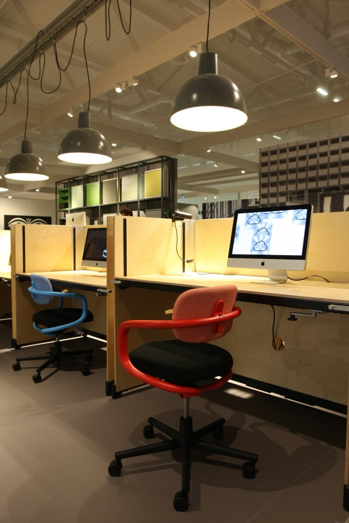 Allstar Office Chair And Hack Table By Konstantin Grcic For Vitra As Seen At Orgatec Cologne 2017