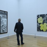 Fate Presto and Flowers by Andy Warhol, as seen at Andy Warhol - Death and Disaster, Kunstsammlungen Chemnitz