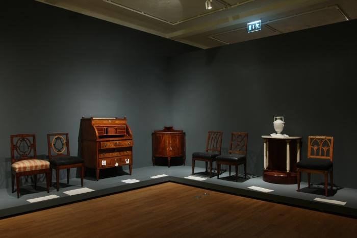 grassi museum leipzig vornehmste tischlerarbeiten aus leipzig f g hoffmann hoftischler und. Black Bedroom Furniture Sets. Home Design Ideas