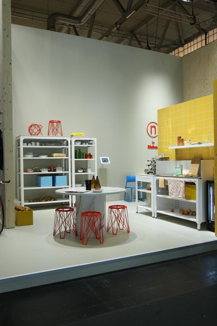 Orgatec Cologne 2014 Concept Kitchen by Kilian Schindler for Naber