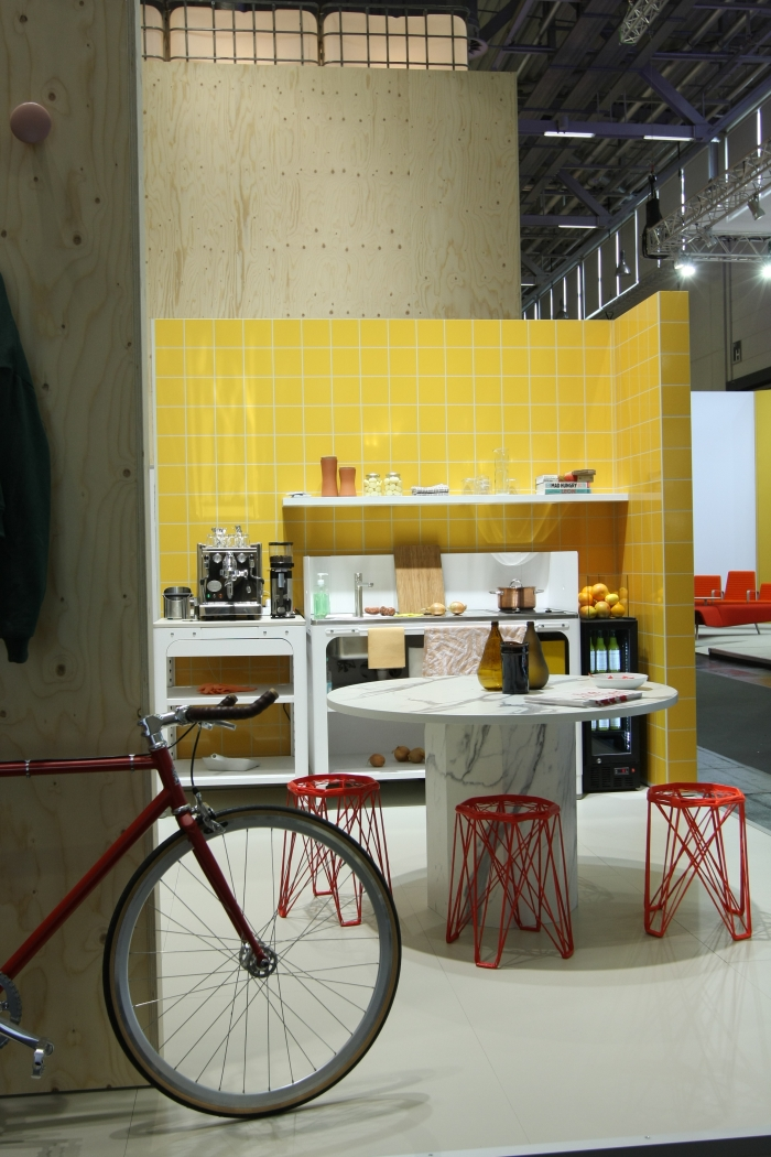 Orgatec Cologne 2014 Concept Kitchen by Kilian Schindler for Naber