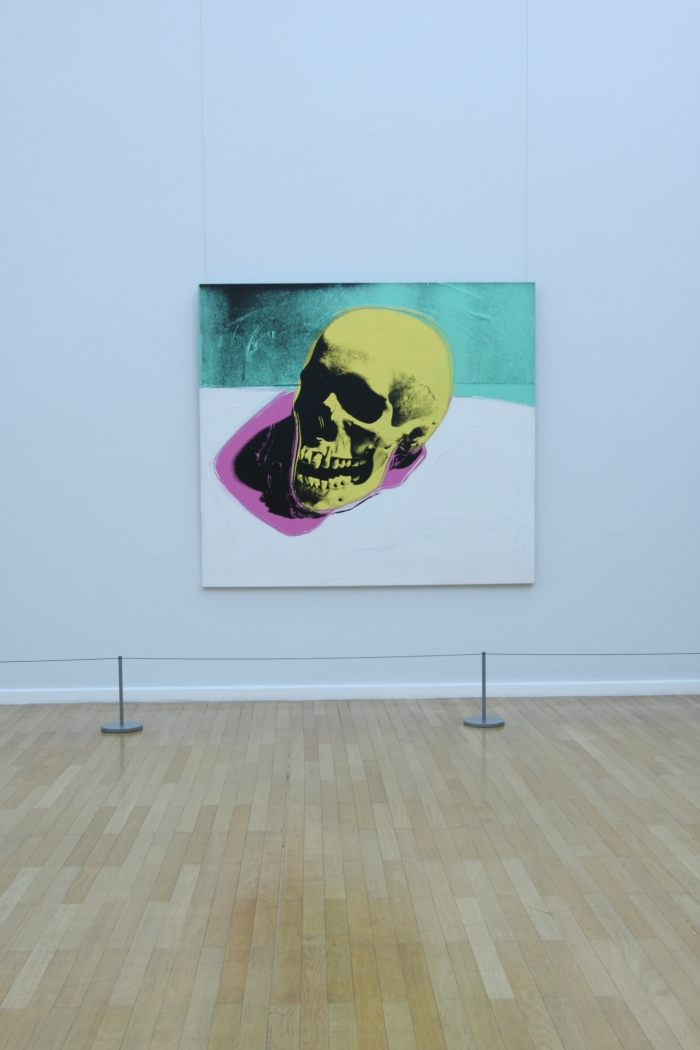 Andy Warhol Death and Disaster Kunstsammlungen Chemnitz Skull 1976
