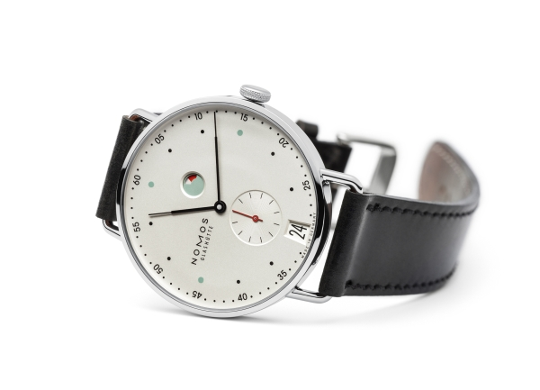 NOMOS Metro watch by Berlinerblau for NOMOS Glashütte