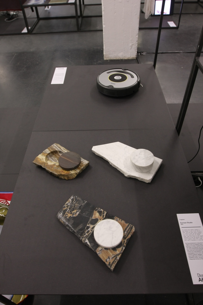 Passagen Cologne 2015 Domestic Affairs - New Voices in Dutch Design Fragment Earnest Studio iRobot Roomba