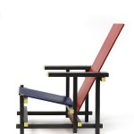 Red and blue chair Gerrit T. Rietveld