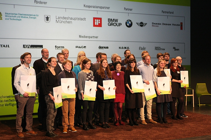 Bayerischer Staatspreis für Nachwuchsdesigner 2014 Winners Honorary Recognitions Jury